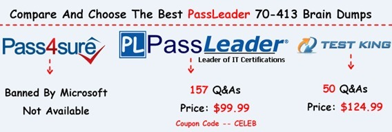 PassLeader 70-413 Brain Dumps[25]