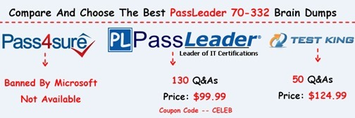 PassLeader 70-332 Exam Questions[26]